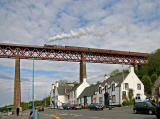 Steam Train Excursion over the Forth Rail Bridge  -  May 2008