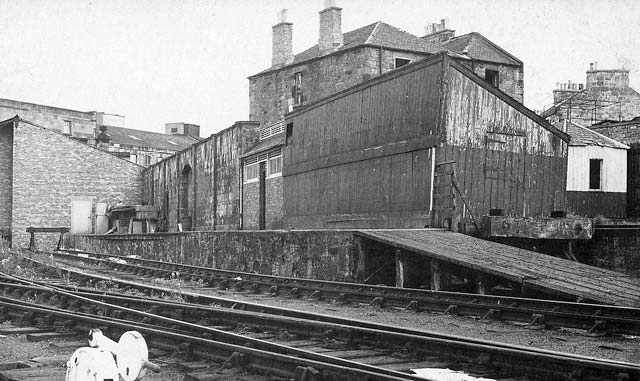 North Leith Station  -  1964