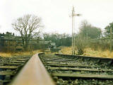 Trinity Station 1986  -  as the railway lines were being lifted