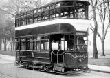 Tram 250 posed for a photograph.  Was this photo taken at Bruntsfield Links or The Meadows, and when might this photo have been taken?