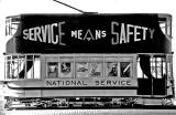 Decorated Trams  -  National Service  -  Service Means Safety