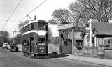Edinburgh Tram  -  1950s  -  Ferry Road, Bonnington