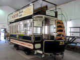 Edinburgh Street Tramway Copany  -  Horse-drawn Tram  -  Restored 2012