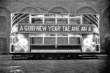 Illuminated Tram  -  A Guid New Year