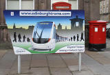 Poster for Trams  -  South side of St Andrew Square