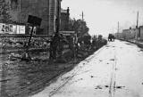 Road works in Edinburh, possibly in connection with tram tracks -  Where and when?