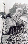 Roadworks  -  Laying or removing tramway  -  Where?  When?