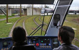 Testing Edinburgh's new trams  -  Exercise Salvador  -  13 March 2014