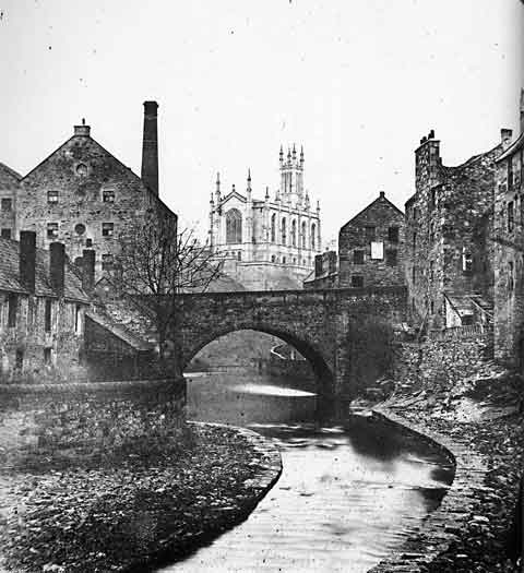 Dean Village - Photograph by Begbie