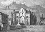 Engraving from 'Old &  New Edinburgh'  -  Trinity College Church