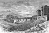 Engraving in 'Old & New Edinburgh'  -  North Bridge and Calton Hill