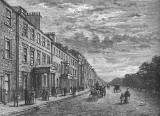 Engraving from 'Old & New Edinburgh'  -  Queen Street
