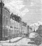 Engraving from 'Old & New Edinburgh'  -  Heriot Row