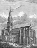 Engraving from 'Old & New Edinburgh'  -  St Mary's Cathedral