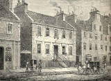 Engraving published in 'Old & New Edinburgh' 1890  -  The Blind Asylum, Nicolson Street