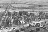 Engraving from 'Old & New Edinburgh'  -  Edinburgh Royal Infirmary