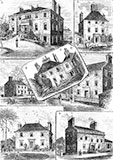 Seven houses owned by the Touris Family of Inverleith