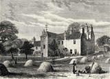 Engraving from 'Old & New Edinburgh'  -  Roseburn House