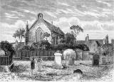 Engraving from 'Old and New Edinburgh'  - Restalrig Church, 1890