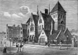 Leith Walk Primary School, Brunswick Road. off Leith Walk, engraving published c.1890