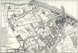Engraving from 'Old & New Edinburgh'  -  Map of Leith