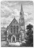 Engraving from 'Old & New Edinburgh  -  St James Episcopalian Church