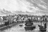 Engraving  -  Newhaven from the Pier