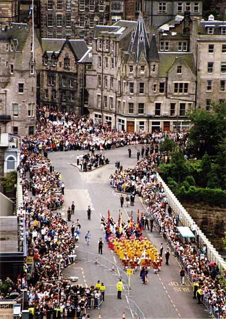 The Edinburgh Festival Cavalcade  -  1
