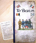 Board Game, 'To Berlin', published by Valentine & Sons