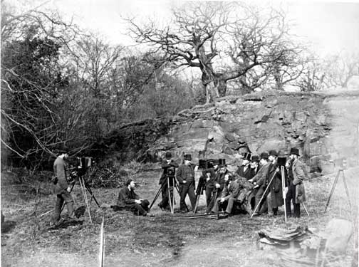 EPS Outing to Cadzow Forest  -  1877