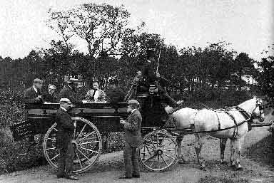Photographic Outing near Aberdour, Fife  -  1890s