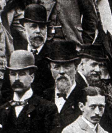 Photographic Convention  -  1892  (detail 3)