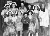 Players in the concert 'A Country Girl' staged at St Phillips's Church Joppa in 1949