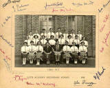 A Leith Academy Class  -  1928-29  -  A photograph by J R Coltart