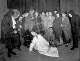 Portobello Primary School Drama Group, most from class 2B2, on stage at the Gateway Theatre, Leith Walk  -  1952