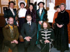 A Group of Edinburgh Photographic Society Members dress for the occasion of the 130th Anniversary of the Founding of EPS  -  February 1991