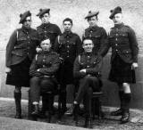 The Black Watch  -  a group including Freddy Buglass, grandfather of Craig Herbertson