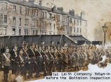 Boys' Brigade, 1st Leith Company  -  Fallen-in Before Annual Inspection, 1914