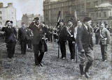 Boys' Brigade Parade in Chancelot Park, now Lethem Park, Ferry Road  -  1930s?