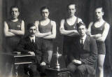 1st Leith Boys' Brigade Swimmers  -  Winners of the Goalen Cup, 1915-16, 1916-17, 1917-18