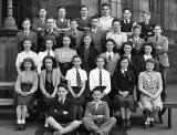 Broughton High School, Class 3a1 in1949