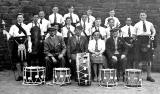 Broughton High School Pipe Band  -  Around 1950