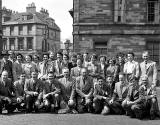 Group Outing  -  Broughton Place.  Do you know which group this was and when the photo might have been taken?