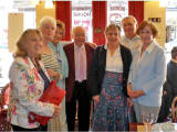 Some of the Class of 1952 from Broughton High School - at a Reunion in 2009