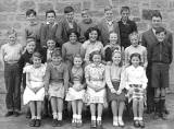 A school class at Burdiehouse School  -  1952