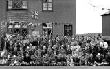 Photo taken on Coronation Day - June 2, 1953  -  Large Group  -  Where?