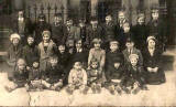 A group of children at 6 Craighall Crescent, Newihaven, Edinburgh