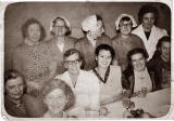 The Cooking Centre staff at Craigmillar Primary School:  1960s