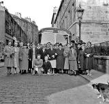 Group Outing  -  Dean Street.  Do you know which group this was and when the photo might have been taken?