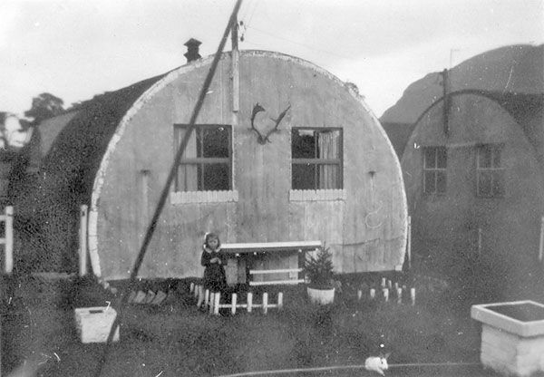 Duddingston Camp, 1950s  -  Hut No .213
